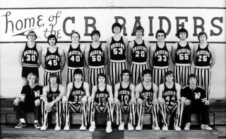 C.B. Raiders Basketball 1973-74