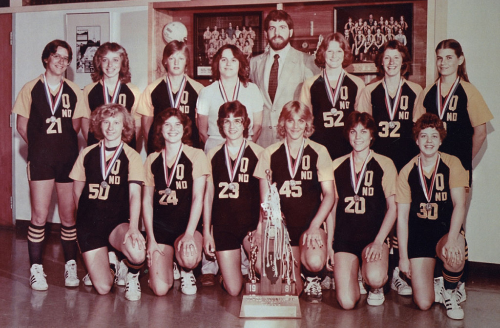 1980-81 Girls Basketball Team